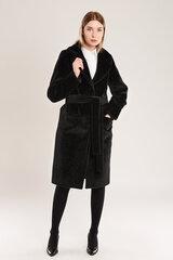 Klasikinio stiliaus kailinukai-paltas kaina ir informacija | Paltai moterims | pigu.lt