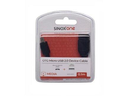USB 2.0 - USB Micro OTG kabelis SINOX SOC4950, 0.1m kaina ir informacija   Laidai telefonams   pigu.lt