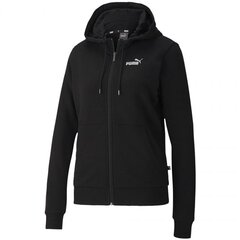 Džemperis moterims Puma ESS + Metallic Full-Zip W 583650 01, juodas kaina ir informacija | Džemperiai moterims | pigu.lt