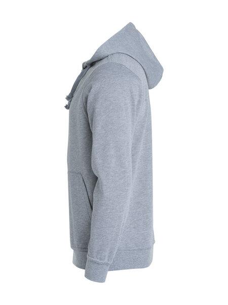 Džemperis vyrams Clique Basic Hoody grey melange internetu