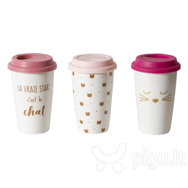 Daugkartinis puodelis kaina ir informacija | Gertuvės | pigu.lt