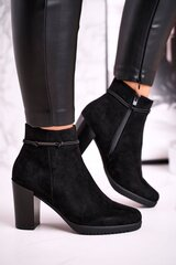 Aulinukai moterims, juodi kaina ir informacija | Aulinukai, ilgaauliai batai moterims | pigu.lt