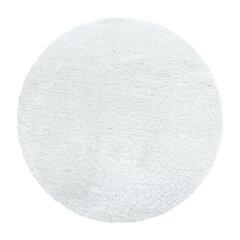 Apvalus kilimas Cosy Deluxe White, 160x160 cm kaina ir informacija | Apvalus kilimas Cosy Deluxe White, 160x160 cm | pigu.lt