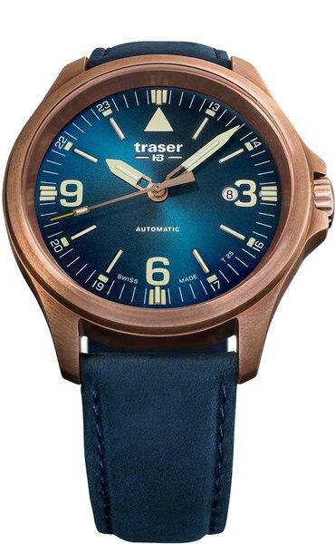 Мужские часы Traser P67 Officer Pro Automatic Bronze Blue
