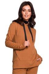 Džemperis moterims BE 134570, rudas kaina ir informacija | Džemperiai moterims | pigu.lt