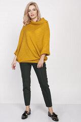 Megztinis moterims MKM 138939, geltonas kaina ir informacija | Megztiniai moterims | pigu.lt