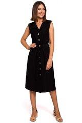 Suknelė moterims Style 141983, juoda kaina ir informacija | Suknelės | pigu.lt