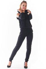 Sportinės kelnės moterims Infinite You 147598, juodos kaina ir informacija | Sportinė apranga moterims | pigu.lt