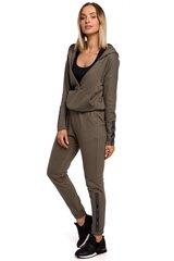 Sportinės kelnės moterims Moe 147944, žalios kaina ir informacija | Sportinė apranga moterims | pigu.lt