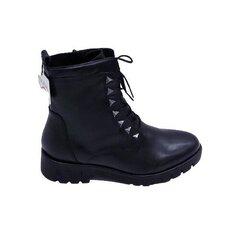 Auliniai batai moterims Tamaris, juodi kaina ir informacija | Aulinukai, ilgaauliai batai moterims | pigu.lt