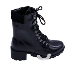 Auliniai batai moterims Aotoria, juodi kaina ir informacija | Aulinukai, ilgaauliai batai moterims | pigu.lt