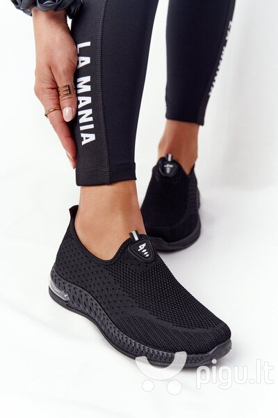 Laisvalaikio batai moterims, juodi