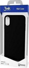 Telefono dėklas 3MK Matt Case, skirtas Samsung G991 S21, juodas kaina ir informacija | Telefono dėklai | pigu.lt