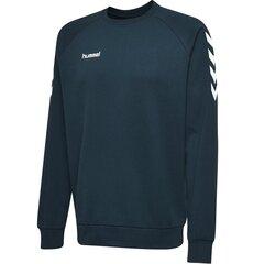 Džemperis vyrams Hummel GO Cotton, mėlynas kaina ir informacija | Džemperiai vyrams | pigu.lt