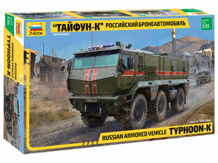Klijuojamas modelis Zvezda 3701 Typhoon-K 6x6 1/35 kaina ir informacija   Klijuojami modeliai   pigu.lt