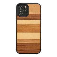 MAN&WOOD, iPhone 12 Pro Max, ruda kaina ir informacija | Telefono dėklai | pigu.lt