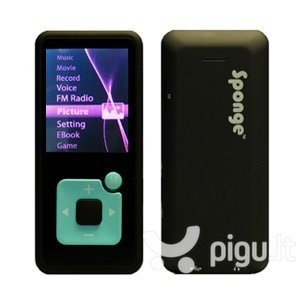 MP4 grotuvas Sponge Melody 8GB