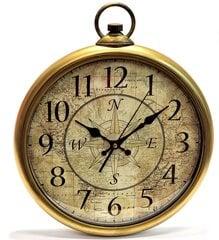 Sieninis laikrodis, 36cm kaina ir informacija | Sieniniai laikrodžiai | pigu.lt
