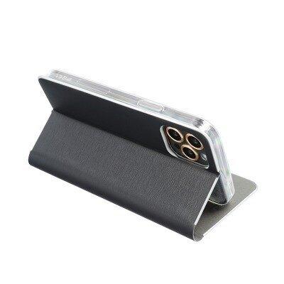 Чехол Luna Book Silver для Samsung Galaxy A02s, черный отзыв