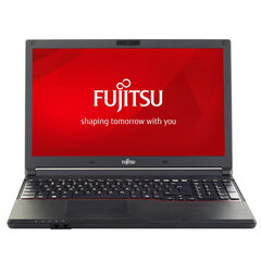 Fujitsu A553 15.6 1366x768 Celeron B830 4GB 320GB WIN10PRO/W7P WEBCAM RENEW kaina ir informacija | Nešiojami kompiuteriai | pigu.lt