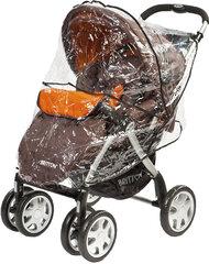 Vežimėlis BRITTON Allroad, ruda kaina ir informacija | Vežimėliai | pigu.lt