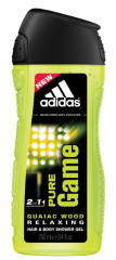 Dušo želė Adidas Pure Game vyrams 250 ml