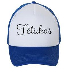 Kepuraitė su snapeliu - tėtukas, mėlyna kaina ir informacija | Originalios kepurės | pigu.lt