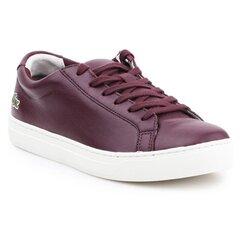 Laisvalaikio batai moterims Lacoste L.12.12 317 1 Caw 7-34CAW0016FD8, bordiniai kaina ir informacija | Sportiniai bateliai, kedai moterims | pigu.lt