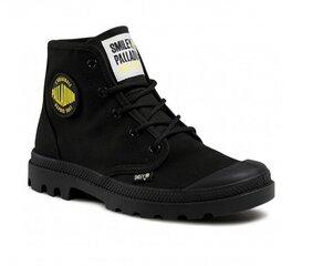Laisvalaikio batai moterims Palladium Pampa HI SML, juodi kaina ir informacija | Sportiniai bateliai, kedai moterims | pigu.lt