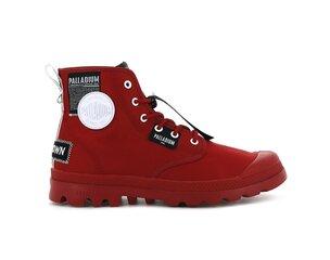 Sportiniai batai moterims Palladium Pampa Lite Overlab, raudoni kaina ir informacija | Sportiniai bateliai, kedai moterims | pigu.lt