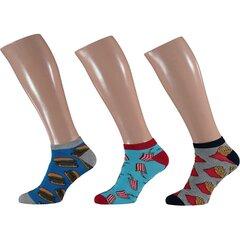 Trumpos kojinės vyrams Apollo, 3 poros kaina ir informacija | Trumpos kojinės vyrams Apollo, 3 poros | pigu.lt