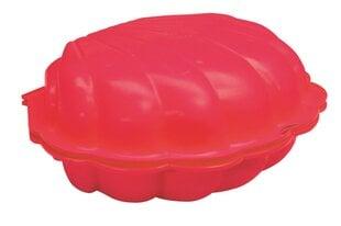 Smėlio dėžė Paradiso Toys Kriauklė 2in1, 87x78x20 cm, raudona