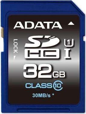 ADATA 32GB SDHC UHS-I U1 (10 klasės)