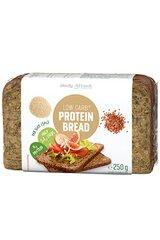 Baltyminė duona Body Attack, 250 g kaina ir informacija | Užkandžiai, traškučiai | pigu.lt