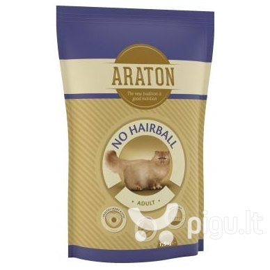 ARATON Adult No Hairball Chicken & Beef 1,5 kg