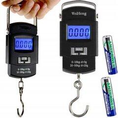 Карманные электронные весы, 50 кг цена и информация | Весы (бытовые) | pigu.lt