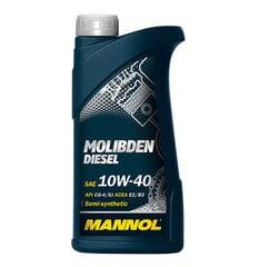 Mannol alyva Molibden Diesel 10W-40, 1L kaina ir informacija | Variklinės alyvos | pigu.lt