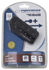 Šakotuvas Esperanza 4 jungtys EA127 USB2.0