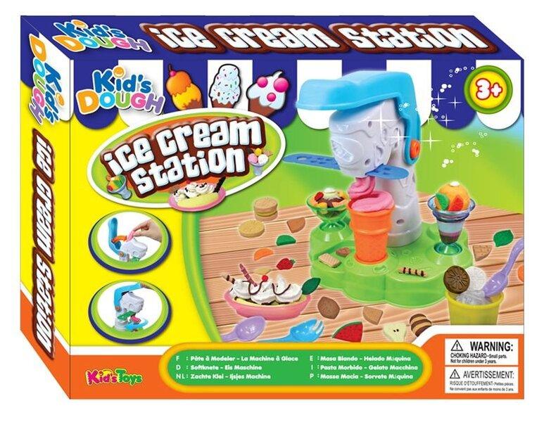 Lipdymo masė Kids Dough Ledų gaminimo fabrikas