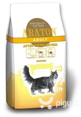 ARATON cat after sterilization 15 kg