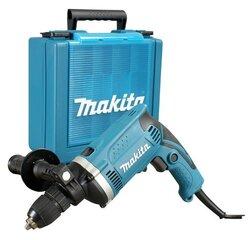 Smūginis gręžtuvas Makita HP1631K su lagaminėliu