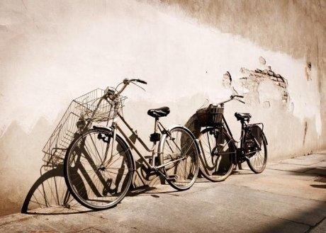 Old bikes, Italy