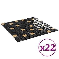 Plytelės sienoms 30x30cm, 22vnt kaina ir informacija | Plytelės sienoms 30x30cm, 22vnt | pigu.lt