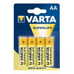 Varta AA Superlife 4 шт. цена и информация | Varta AA Superlife 4 шт. | pigu.lt