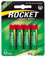 Rocket Heavy Duty AA elementai 4 vnt. kaina ir informacija | Elementai | pigu.lt