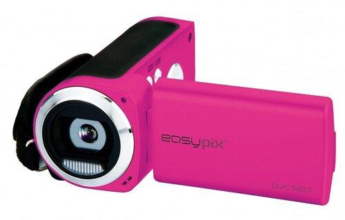 EasyPix DVC5227, Rožinė kaina ir informacija | Vaizdo kameros | pigu.lt