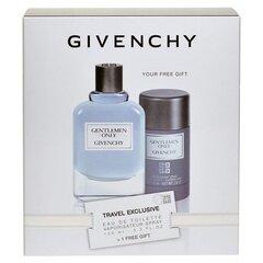 Rinkinys Givenchy Gentlemen Only: EDT vyrams 100 ml + pieštukinis dezodorantas 75 ml