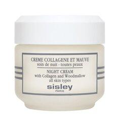 Naktinis veido kremas su kolagenu ir dedešvomis Sisley 50 ml kaina ir informacija | Veido kremai | pigu.lt