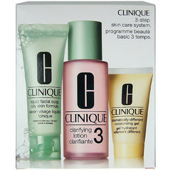Rinkinys Clinique 3 Step Skin Care System 3