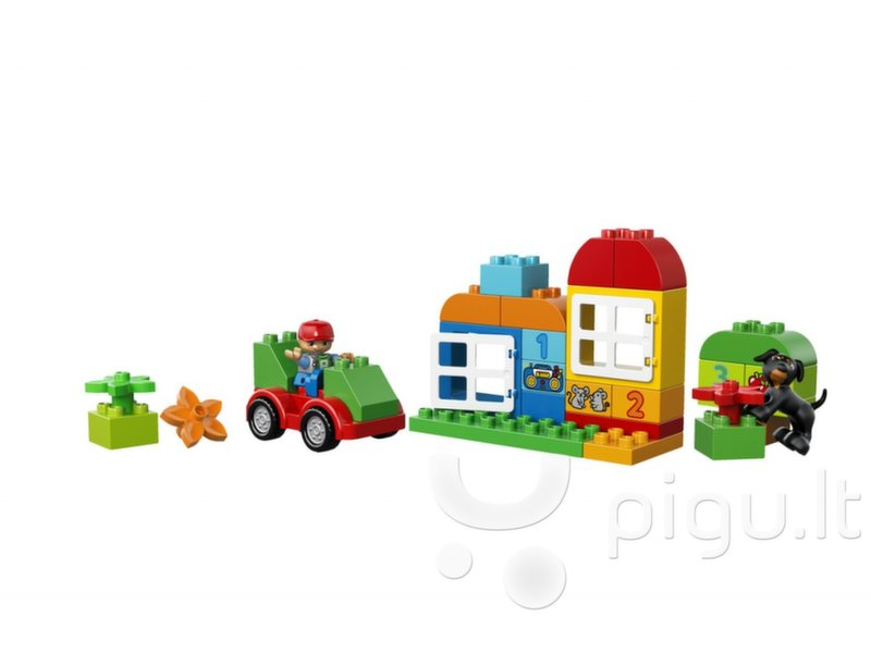 10572 LEGO® DUPLO All in One box for Fun atsiliepimas